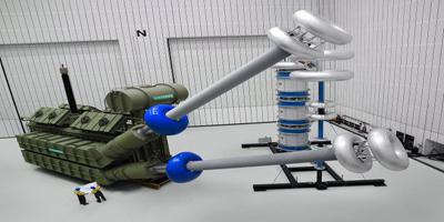干式变压器在出厂工作前的最后考验
